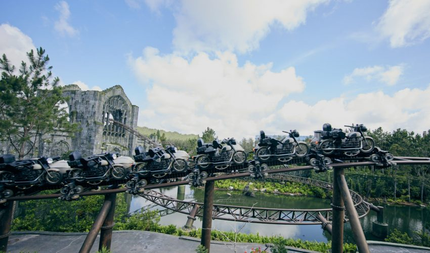 7 segredos da Hagrid's Magical Creatures Motorbike Adventure