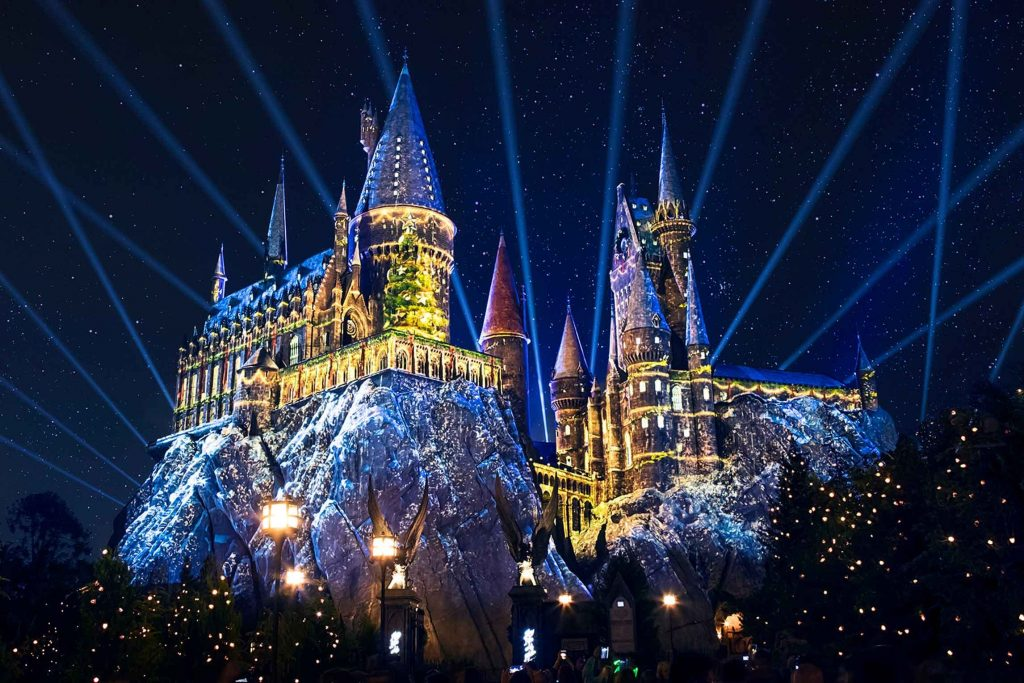 Christmas in The Wizard World of Harry Potter