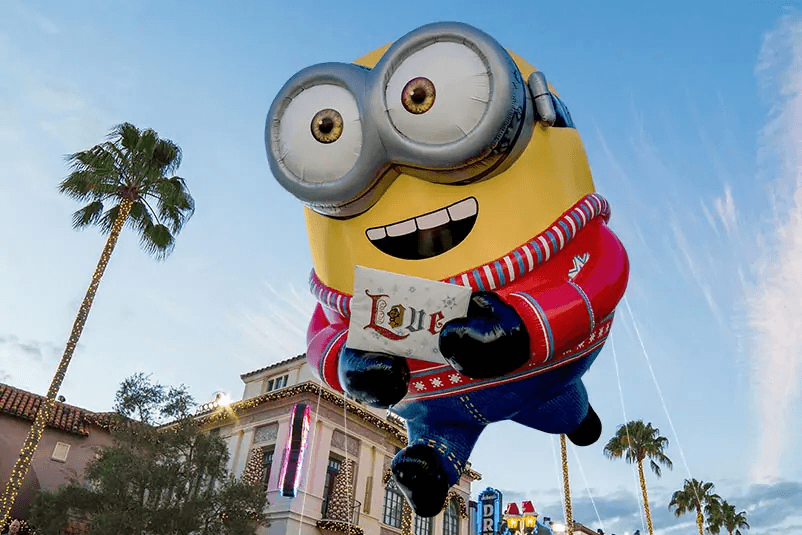 Universal's Holiday Parade